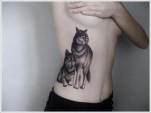 2 זאבים על הצלעות