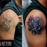 קאבר ורד לכתף