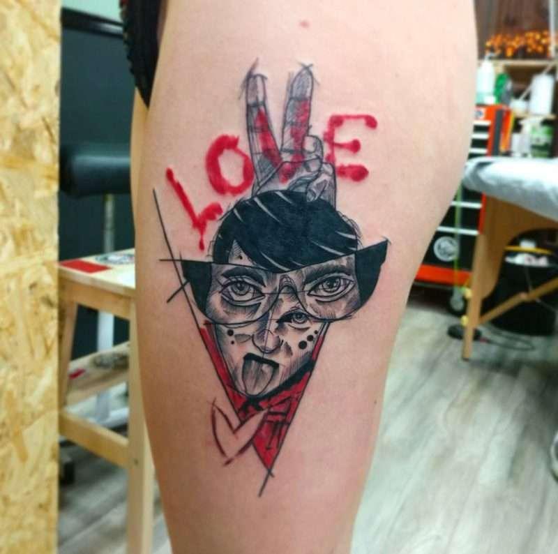 תמונת אלבום של Black Rose Tattoo   סטודיו לקעקועים בתל אביב