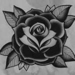 black rose tattoo logo