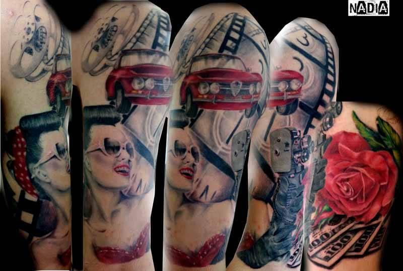 תמונת אלבום של קליפ קורד קעקועים | Clip Cord Tattoos