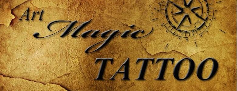 לוגו ארט מגיק טאטו
