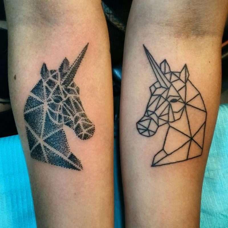 2 סוסים גיאומטריים
