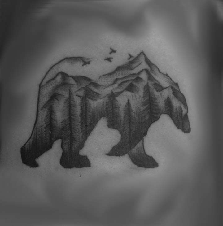 blackandgreyforesttattoo
